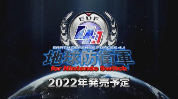 地球防衛軍4.1 for Nintendo Switch
